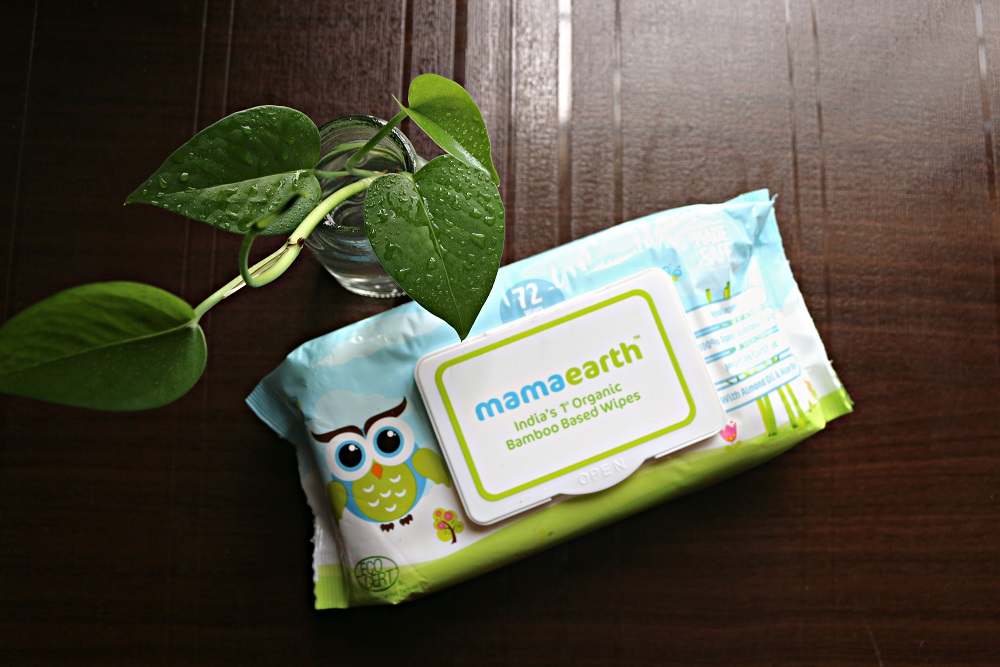 #MamaEarth #Organic Bamboo Based Wipes Review