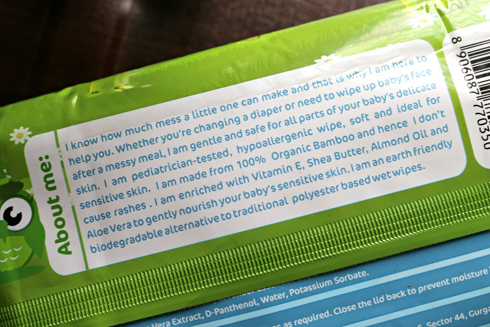 mama earth organic bamboo wet wipes review
